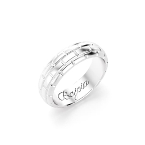 Bajoia bague Buick or blanc
